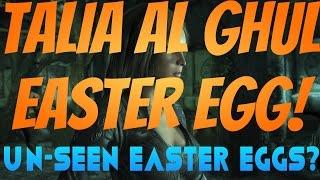 Arkham Knight: Talia Al Ghul Easter Egg + Unseen Easter Eggs?