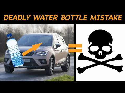 This Is The Alarming Reason Why Leaving Bottled Water In Your Car Can Be A Deadly Mistake