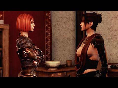 Morrigan & Leliana Catfight   Dragon Age: Origins