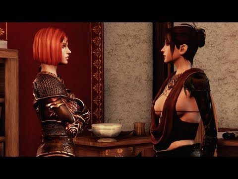 Morrigan & Leliana Catfight | Dragon Age: Origins