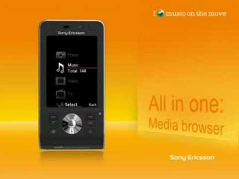 Sony Ericsson W910I Présentation