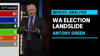 Antony Green on where the results of the historic WA state election stand so far | Insiders