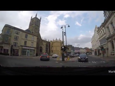 A Drive Around Cirencester in the Cotswolds