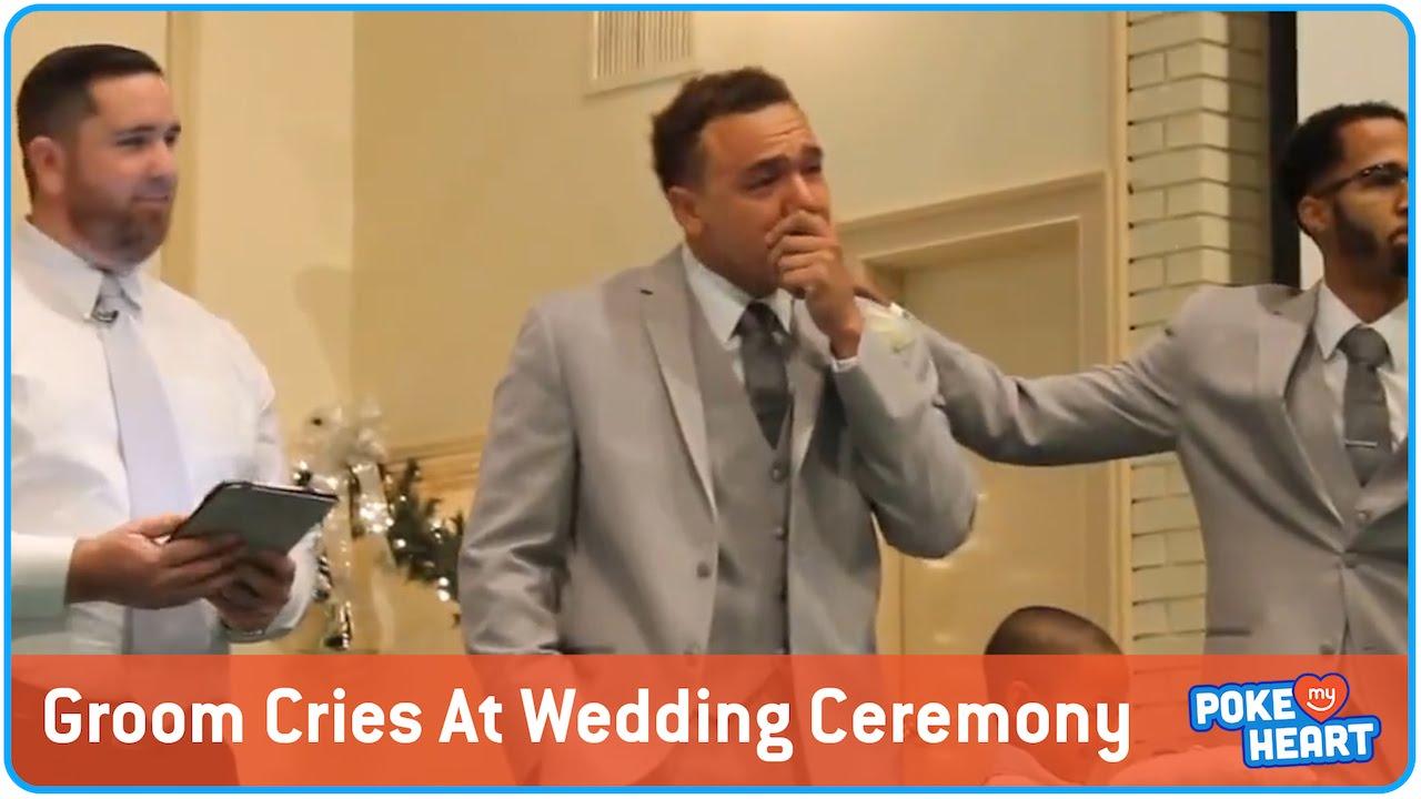 Sweetest Groom Wedding Reaction