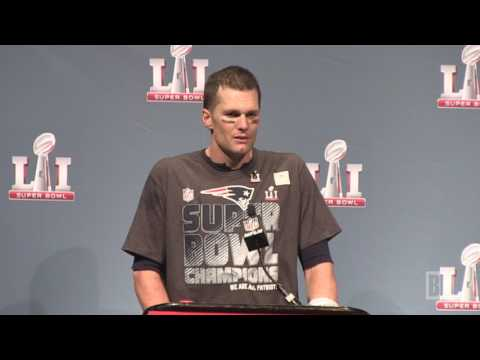 Tom Brady on winning his fifth Super Bowl