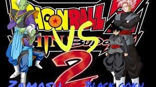 Zamasu vs black goku dragon ball z shin budokai 2 mod