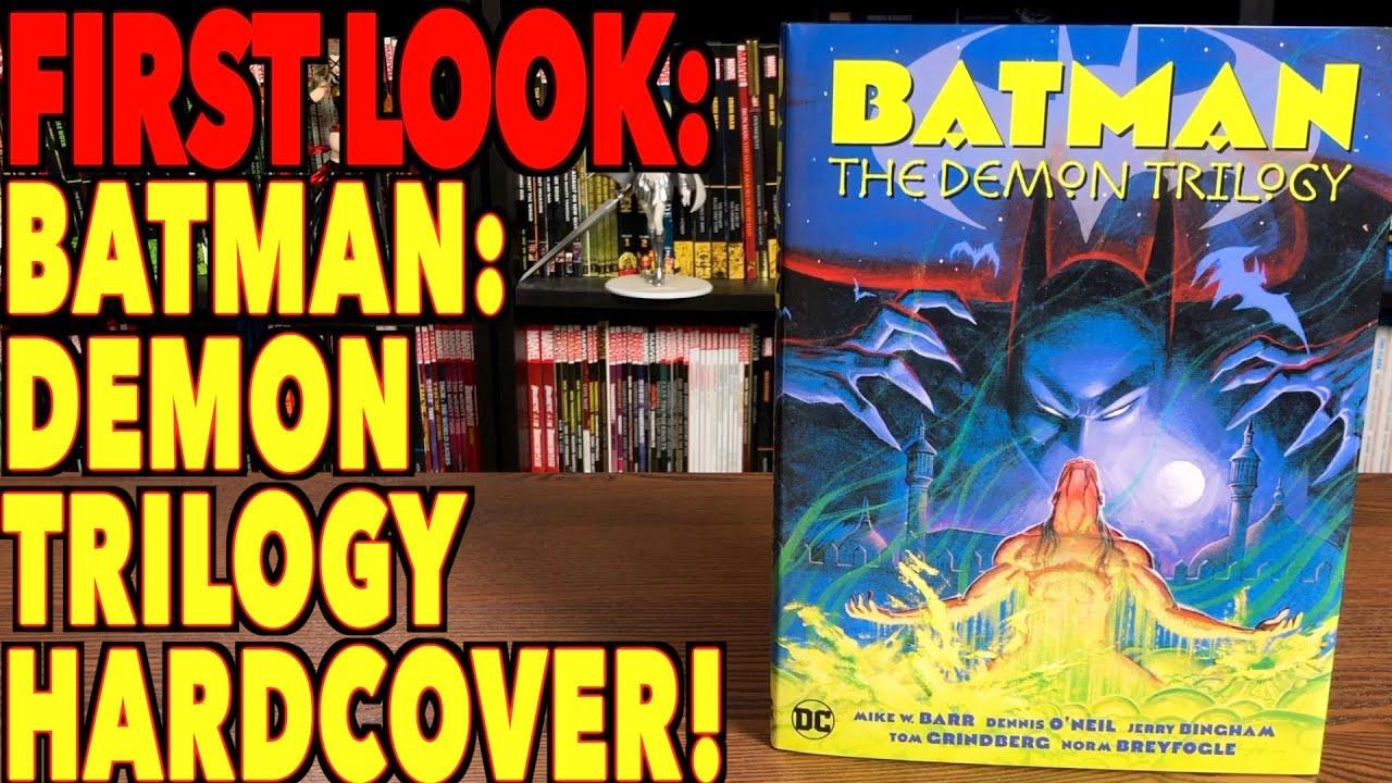 FIRST LOOK: Batman: The Demon Trilogy!