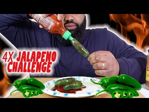 4X SPICY JALAPENO CHALLENGE BY T & LEE TV & MISS DIVERSITY 3| Jalapeno Poppers| Jalapeño