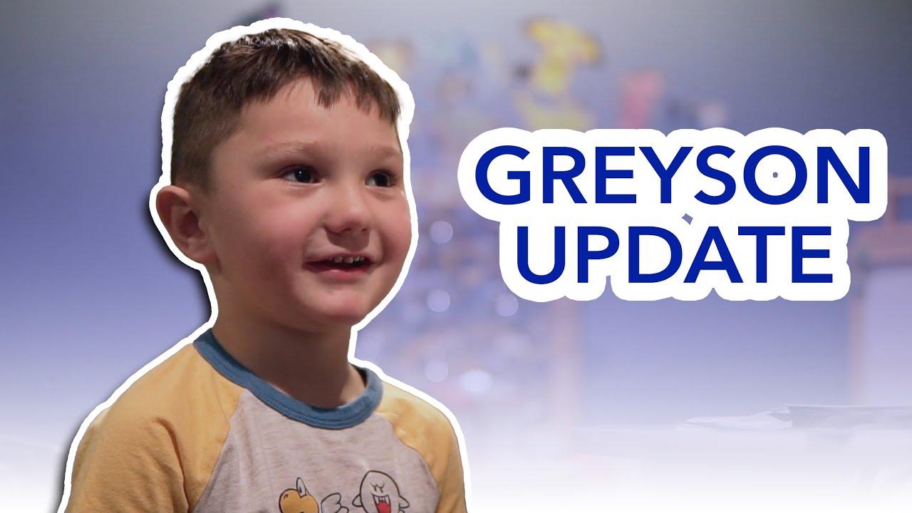 GREYSON UPDATE MAY 2021 || JWOWW