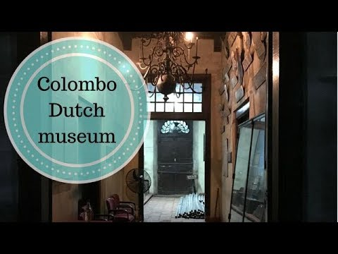 Visiting the Colombo Dutch museum at night