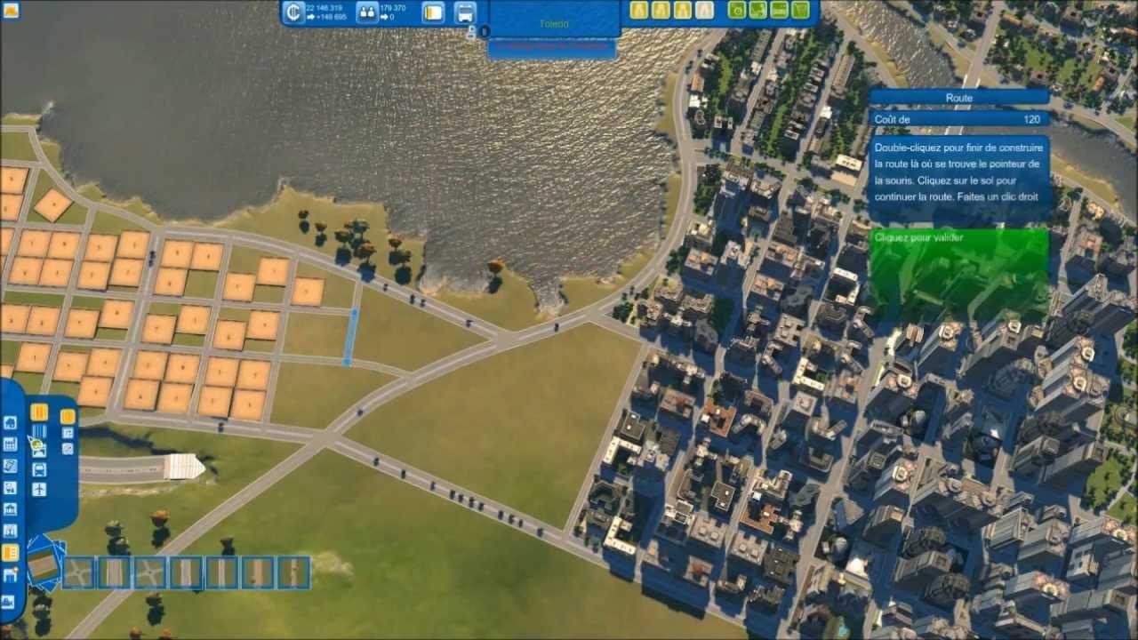 Cities XL  Construction De Toledo En Accéléré YouTube - New york map cities xl