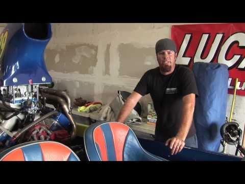 Mike Finnegan Drag Boat Engine vBlog