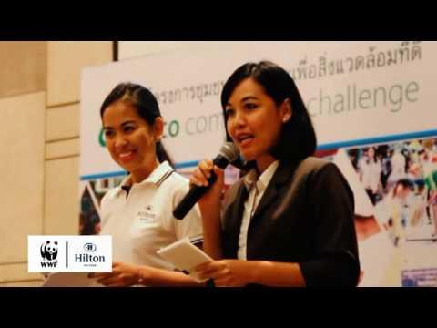 Eco Community Challenge Award Ceremony at Hilton Pattaya