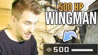 USTAWIŁEM SOBIE 500 HP NA WINGMANIE W CS:GO!