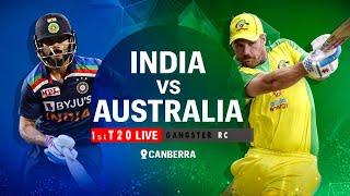 LIVE🔴- INDIA VS AUSTRALIA LIVE 🔴// 1st T20 //  LIVE SCORE // SYDNEY TOUR