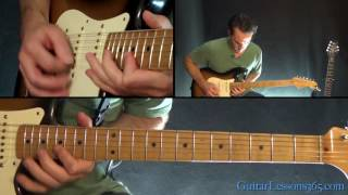AC/DC - Shoot To Thrill Guitar Lesson (Part 2)