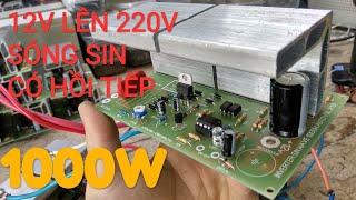 mạch kích điện 12v lên 220v sóng sin 0989.689.333