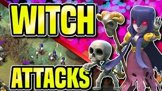 MAXED WITCH VS MAXED BASES| MASSIVE GAMEPLAY| CLASH OF CLANS| PRIVATE SERVER| LSJ MEHTA