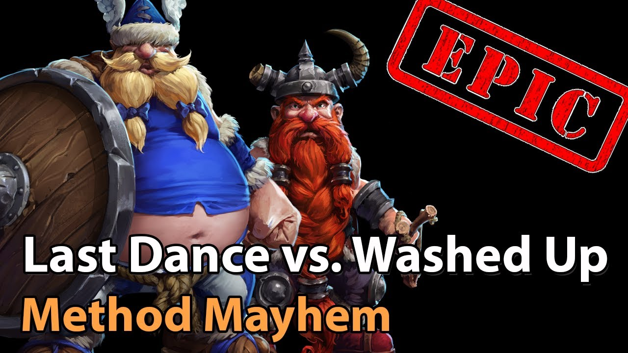 ► EPIC Last Dance vs. Washed Up - Method Mayhem Monthly Final - Heroes of the Storm Esports