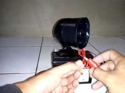 Sirine alarm 1 nada / 1 tone siren alarm