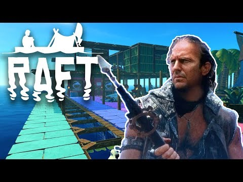 WATERWORLD IS OUR HOME NOW - Raft - #16 (Raft Multiplayer Gameplay)
