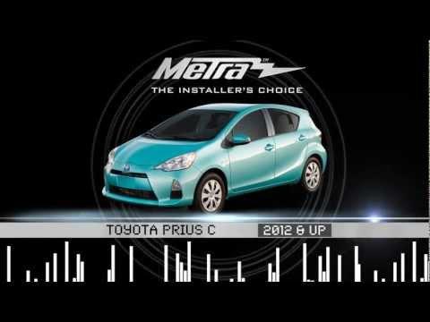 Metra Toyota Prius C 2012 & UP Kit 95 / 99-8239B