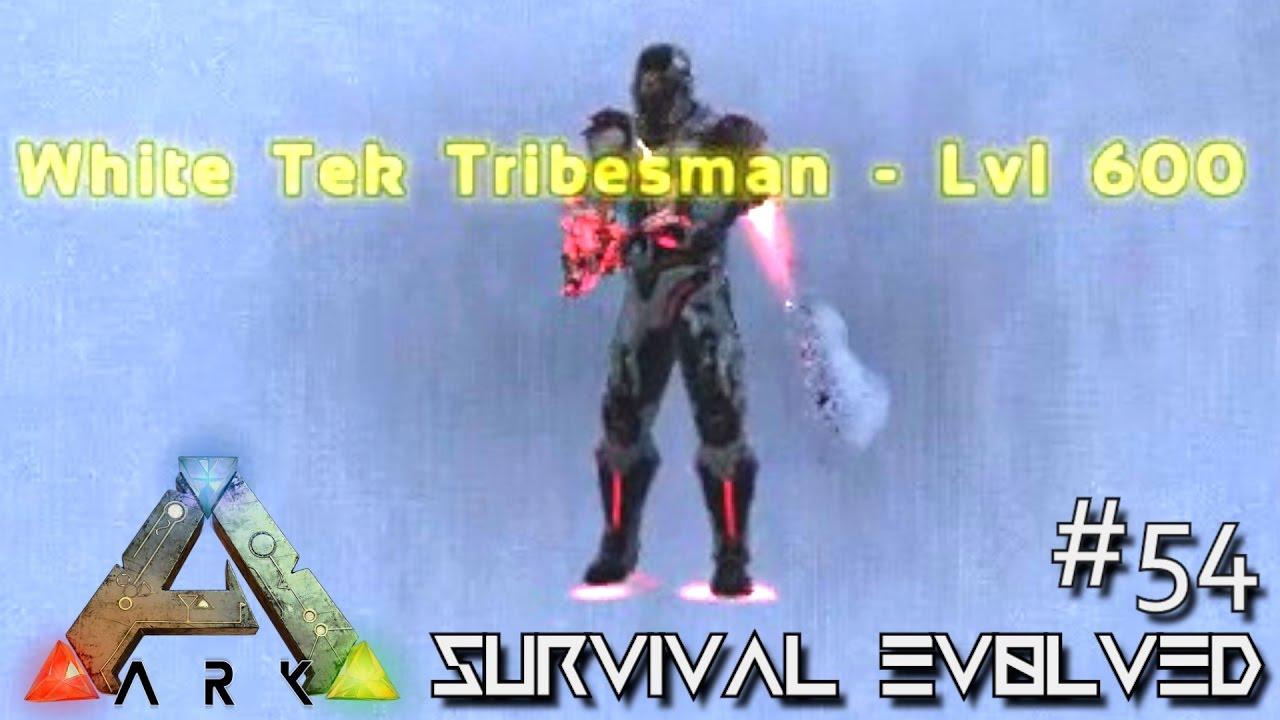 ark extinction core how to kill white tek tribesmen