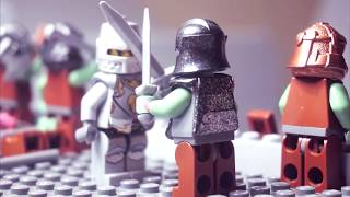 Lego Castle - Kingdoms - Attack of the Orcs  MUST SEE! EPIC BATTLE!
