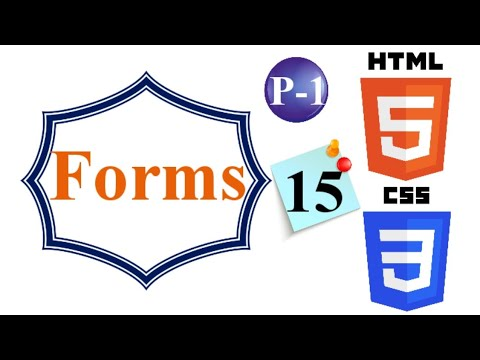FORMS P-1 | 15 | HTML & CSS From Beginner To Advance thumbnail