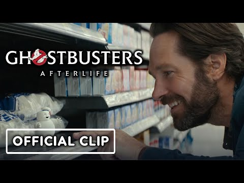 Ghostbusters: Afterlife - Official Mini-Pufts Character Reveal Clip (2021) Paul Rudd