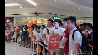 (4K) Xiaomi Flagship Store SM City Pampanga Opening with the Mi A3