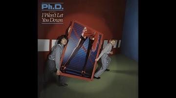 PhD  -  Won't Let You Down - 1981 -  HQ