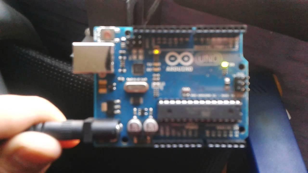 My hello world arduino uno project s o led call doovi