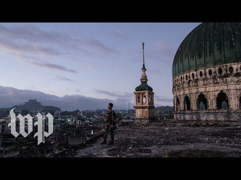 Inside the Philippine ghost city of Marawi, destroyed by war