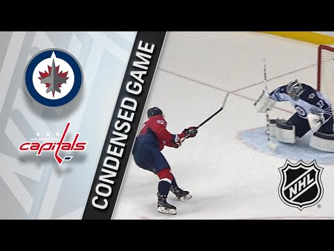 03/12/18 Condensed Game: Jets @ Capitals