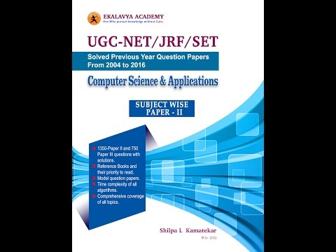 UGC NET Subject Wise Book Infromation- 2017