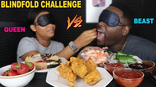BLINDFOLD FOOD CHALLENGE | AMAZING REACTION