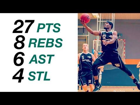 Kyle Gupton Highlights  vs. Oldenburger TB - 27 points, 8 rebounds, 6 assists, 4 steals