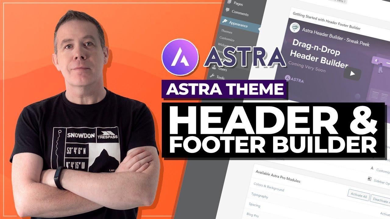 Astra Theme | Header & Footer Builder
