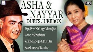 OP Nayyar & Asha Bhosle Duets Hits Songs Jukebox - HD Movie Songs
