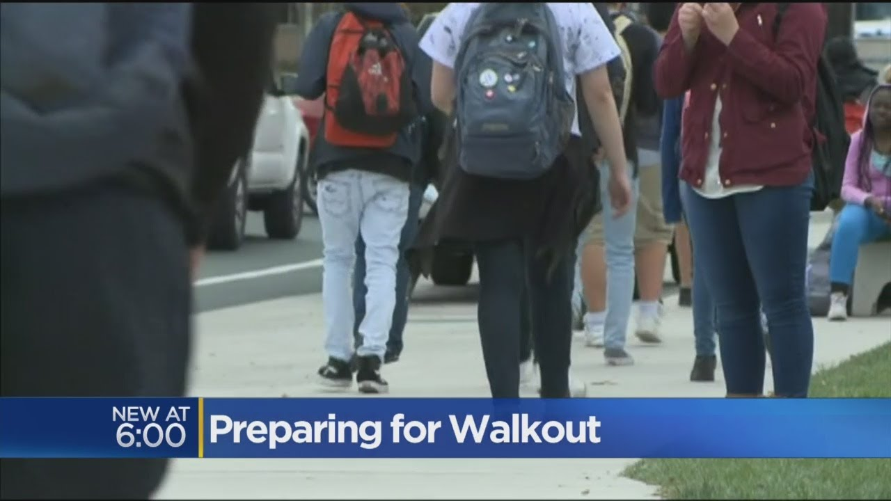 Students Ready To Walk Out On Wednesday Over School Shootings