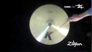 "Zildjian Sound Lab - 20"" K Custom Dark Ride"