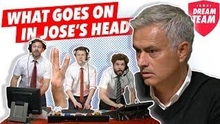 What really goes on inside Jose Mourinho's head?