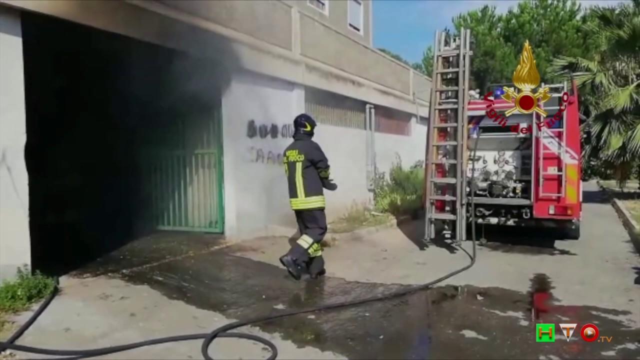 Vigili del Fuoco - Cagliari, Intervento per incendio di ...
