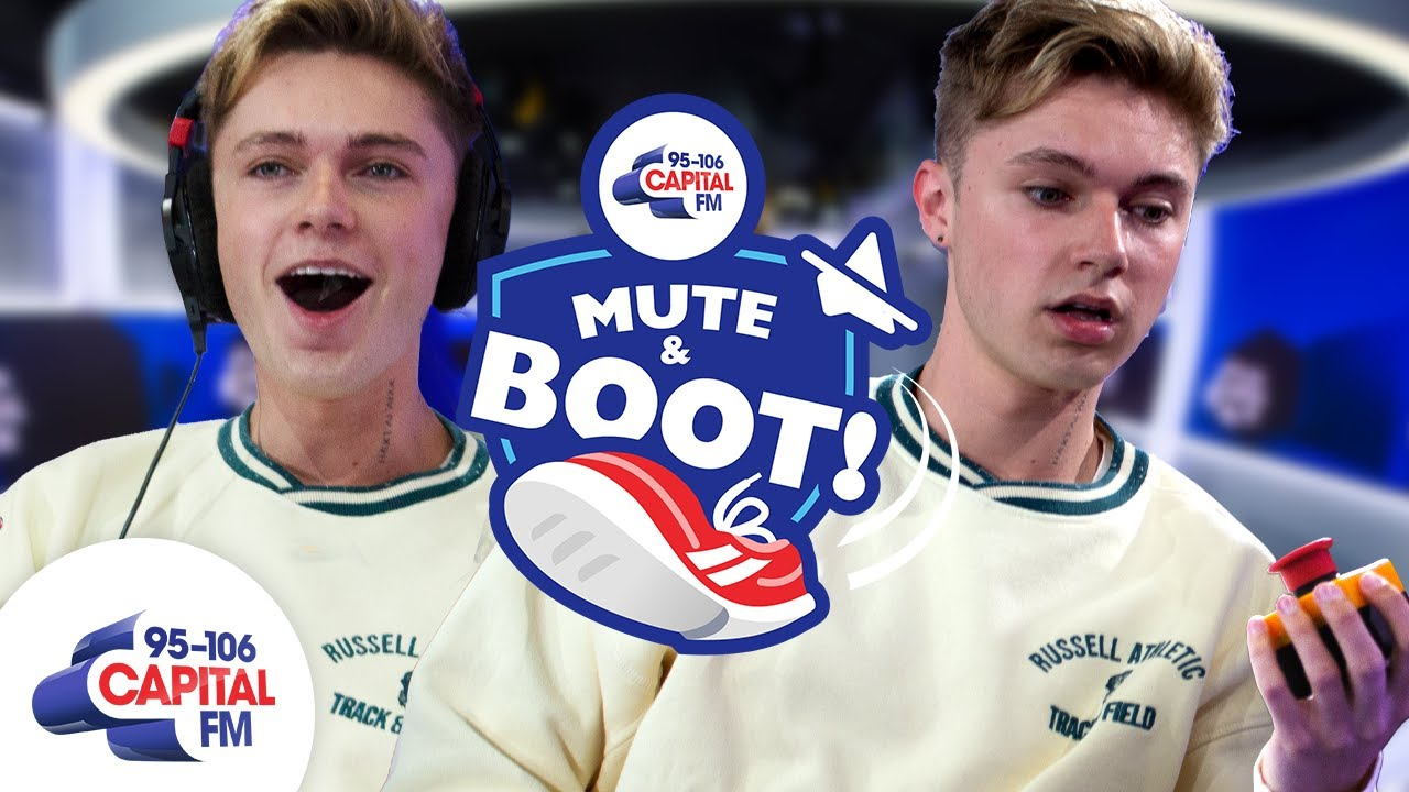 HRVY Refuses To Answer Kissing Question About Maisie Smith & Loren Gray 🤐 | Mute & Boot | Capital