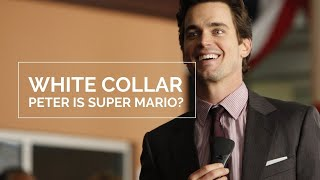 White Collar | Peter is Super Mario and Neal looks good in Orange ;)
