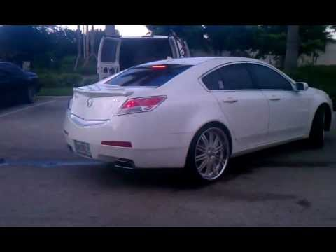 Acura Tl On 22 Asanti At C2c Youtube