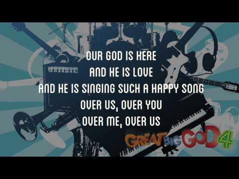 Our God Is Here - Great Big God 4 Lyric Video Vineyard UK Kids Worship