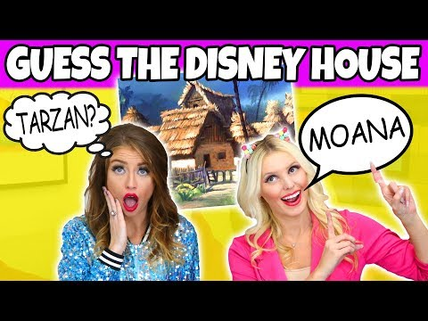 Guess the Disney Movie House. (Is it Moana, Jungle Book or Tarzan?) Totally TV