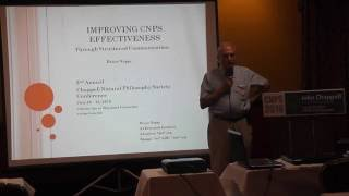 Improving CNPS effectiveness Through Structured Communication by Bruce Nappi
